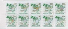NFI SG777a 6th South Pacific Mini Games local booklet stamp pane of 10